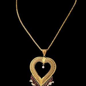 Shop online Gold Necklace - Mehta Jewellery