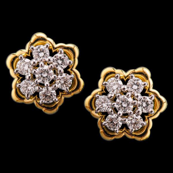 Diamond Earrings - Thodu