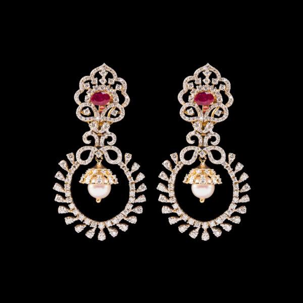 Buy Gold & Diamond Earring online - Mehta Jewellery